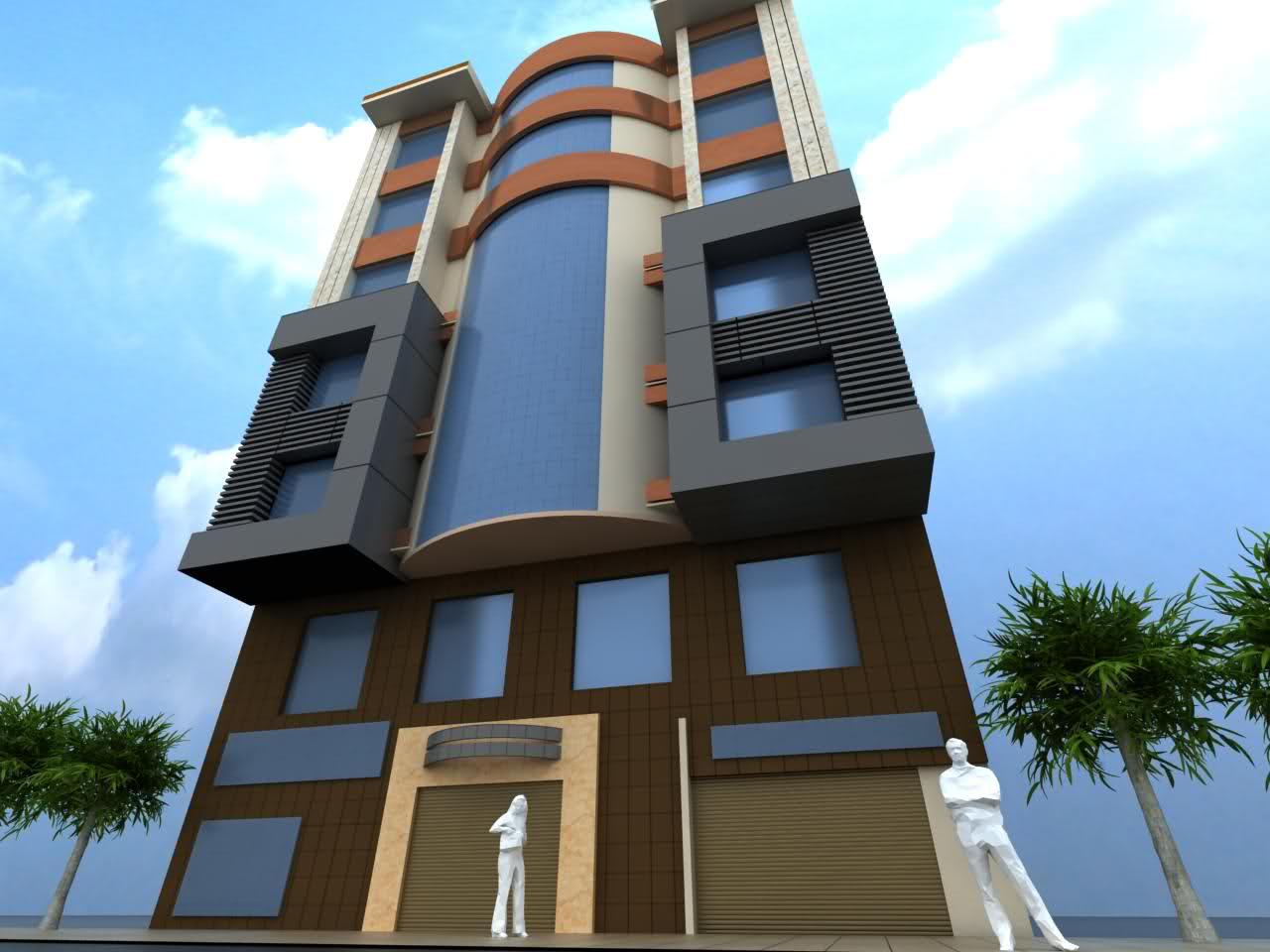 مصالحی نوین نمای ساختمان