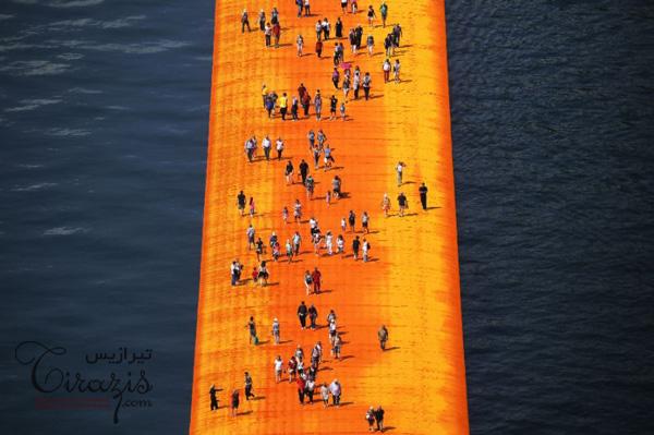 طراحی اسکله شناور دریاچه آیزئو ایتالیا
