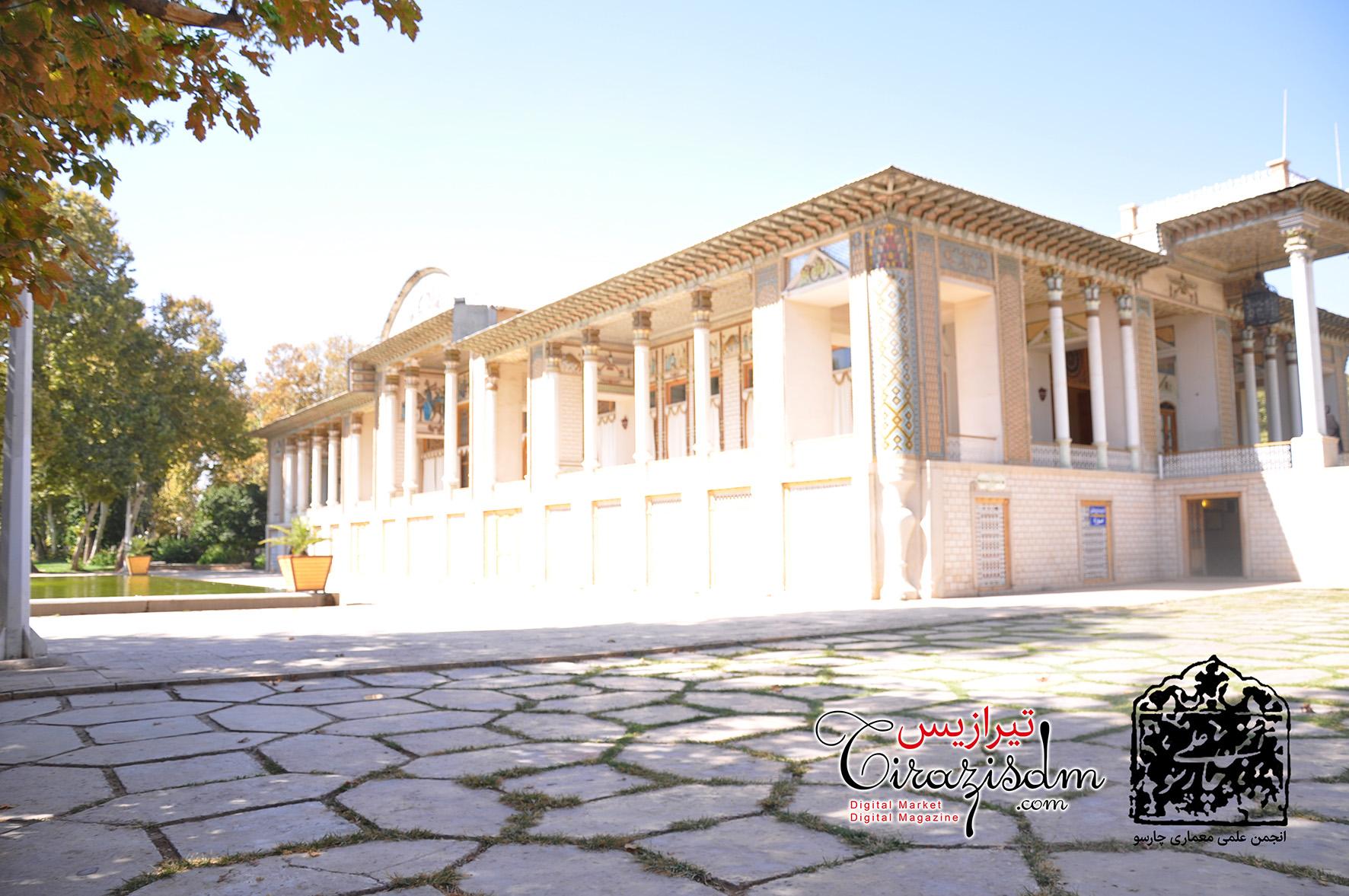 مسابقه اسکیس از باغ عفیف آباد