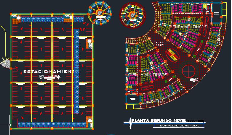 پروژه مجموعه تجاری شهر