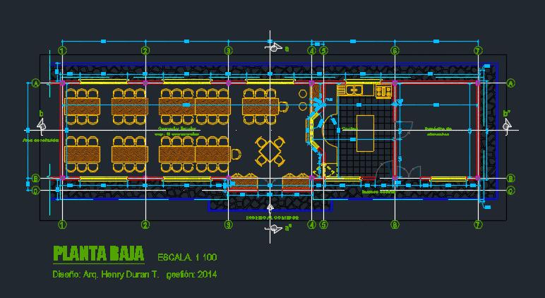 طراحی نهارخانه بین راهی