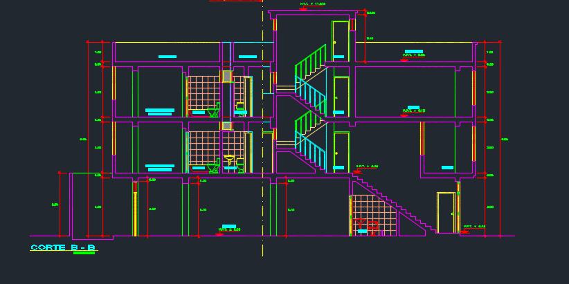 طراحی آپارتمان چندواحدی